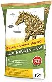 JOSERA Kraut & Rüben Mash (1 x 15 kg) | Premium Pferdefutter Mash | Pferdefutter mit Leinsamen |...
