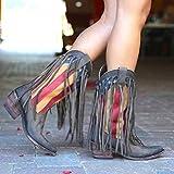 Mode Stiefel Damenschuhe in Großen Größen Schlauchstiefel Trend zu Allen Stiefeln Passen...