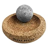 SudoreWell® Minisolejoy - Kleiner Sauna Stone Fußmassage Stein aus Speckstein - das Original aus...
