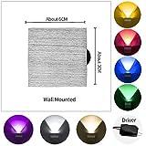 BFMBCHDJ LED-Wandleuchte Moderne Wandtreppenbeleuchtung Wohnzimmer Schlafzimmer Nachttisch...