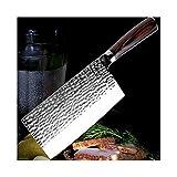 HAIYOUSHANGMAO Knife Edelstahl-Kochmesser Schmieden Anti-Stick Sharp Cleaver Fisch Gemüse...