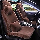 Auto Sitzbezug Pink, Winter Hohe Qualität Plüsch Auto Sitzbezug Universal Weich Und Flauschig...