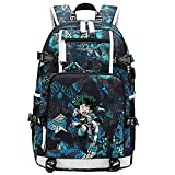 GOYING My Hero Academia Deku/Midoriya Izuku Anime Laptop Rucksack Tasche Travel Laptop Daypacks...