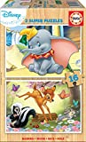 Educa Borras - 2X16 Disney Animals Dumbo+Bambi Puzzle (18079)