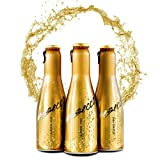 JUST BE Secco Alkoholfrei | Piccolo frizzante l Alkoholfreier Premium Weiss-Wein Aperitif (12)