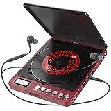 Tragbarer CD Player, Persönlicher Wiederaufladbar MP3 CD Player mit Doppelte 3.5mm Kopfhörern...