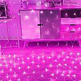 YJF-TYY LED Net Mesh Fairy String dekorative Lichter 200 LEDs 3m * 2m - Weihnachtsbaum-Wrap Hochzeit...