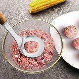 PoeticHouse Fleischklöschen Hersteller, Edelstahl Fleischklöschen Löffel Antihaft...