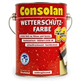 2,5 Liter Consolan Wetterschutzfarbe silbergrau Nr. 217