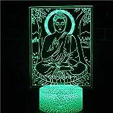 Engel Religion Christian Jesus Christus Buddhismus Shakyamuni Gott führte Nachtlicht Raumdekoration...