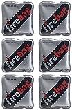 firebag Wärmebeutel: 6er-Set Taschenwärmer warme Hände, wiederverwendbar (Fire Bag)