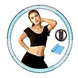 Azanaz Hula Hoop Erwachsene Kinder Hula Hoop Reifen Gewicht 1.5 kg Hula Hoop Fitness 6 Abnehmbare...