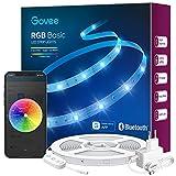 Govee LED Strip 10m, Bluetooth RGB LED Streifen, Farbwechsel, Musik Sync, 64 Szenenmodus, Steuerbar...