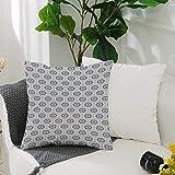 Kissenbezug Polyester Kissenhülle Dekorative,Geometrisch, Kamm Design Kikko Schildpatt Muster...