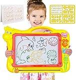 Magnetische Zeichenbrett - Große (43 x 30 x 5 cm) Kinder Zaubertafel Doodle Board Pad Bunt...