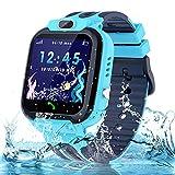 Smartwatch Kinder Uhr Wasserdicht Kinder Smartwatch für Jungen und Mädchen, Smartwatch mit Telefon...