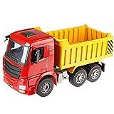 PBTRM Muldenkipper Spielzeug, Simulationsmodell 1:20 Manueller Spielzeug Kipplaster Dumper Truck...