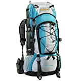 AspenSport Rucksack The South Pole, türkis/Grau, 50 x 38 x 23 cm
