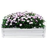Gartenpflanzen Metall Pflanzkasten Blumenständer Gartenbeet Gartenschutzausrüstung Pflanzgefäß...
