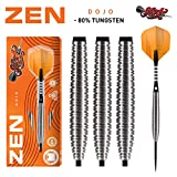 Shot Steel Darts Zen Dojo 80% Tungsten Steeltip Darts Steeldart (25 Gr)