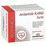 Hochdosiertes Antarktis Krilll forte Omega 3 mit SuperbaBoost, Omega-3-Fettsuren (DHA & EPA), mit...
