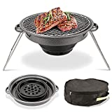 LCM Picknickgrill, Portablecharcoal Grill Faltbare Werkzeugstze, Charcoal Barbecue Grill...