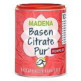 MADENA Premium BasenCitrate Pur Komplex | nach Apotheker Rudolf Keil | Citrat-Basenpulver vegan 240g...