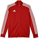 adidas Kinder TIRO19 TR JKTY Sport Jacket, Power red/Red/White, 910Y