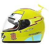 AH&Y Kinder Motorradhelm Skateboard Jet Helm Full Face Motorradhelm Jethelm Moped Helm Chopper...
