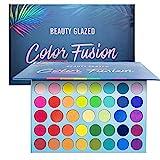 Beauty Glazed 39 Farben Lidschatten Palette Bunt Nudetöne Regenbogen Colour Board Schminkpalette...