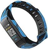 LYXMY Smart Armband Multifunktional Herzfrequenz Fitness Tracker Aktivität Wasserfest Uhr Blutdruck...