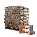 PALIGO Holzbriketts Nestro Hartholz Eiche Kamin Ofen Brenn Holz Heiz Brikett 10kg x 96 Gebinde 960kg...