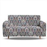 Enhome Sofabezug Sofa Überwürfe 1/2/3/4Sitzer, 3D Vintage Muster SchonbezugfürSofa...