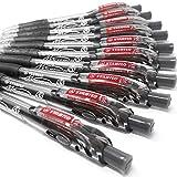 Stabilo Marathon Kugelschreiber, einziehbar, extra großer Tintenbehälter-Schwarz- 10Stück