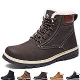 Sixspace Winterstiefel Warm Geftterte Winterschuhe Outdoor Schneestiefel rutschfest Winter Boots...