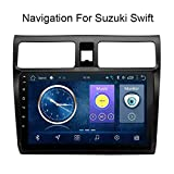 XMZWD 10,1 Zoll Android 8.1 Full Touch Screen Auto Multimedia System Fr Suzuki Swift 2004-2010 Auto...