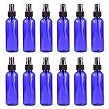 DQANIU 12PCs tragbare Blaue Plastiksprhflasche Kleine Flssigkeitssprhflasche mit Plastiksprhgert...