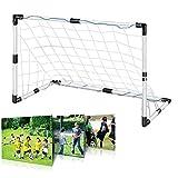 Demiawaking Fußballtor Netz für Fußballtraining, Trainingsgerät für Fußball (150 x 100 cm)