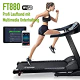 Fitifito FT880 Profi Laufband 7,5PS 22km/h mit 10,1 Zoll Touchscreen Android WiFi App 22...