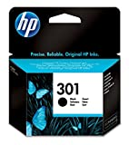 HP 301 Schwarz Original Druckerpatrone für HP Deskjet 1000, 1010, 3000, 1050, 1050A, 1510, 2050,...