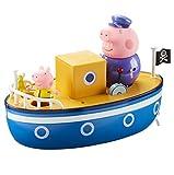 TM TOYS 05060 Wutz Peppa 4cm Grandpa Pig 's Bath Time Boot