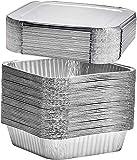 Einweg-Backformen aus Aluminiumfolie, ideal zum Kochen, Backen von Kuchen, Braten, hausgemachtes...