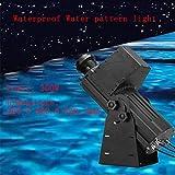 PROJECTIONLAMP Wasser Muster Lichtfluss Effekt Dynamisches Projektionslicht Im Freien Wasserdicht...