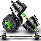 AZWE Hantel Fitnessgeräte Heimfitnessgeräte untergraben visuelle Stummschaltung (grün, um...