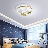 AOKARLIA Deckenleuchte Für Kinderzimmer Jungs LED Dimmbar Schlafzimmer Licht - Runde Creative...