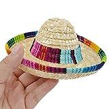 Yusea Sombrero Hut für Hunde und Katzen, mehrfarbig, für den Außenbereich