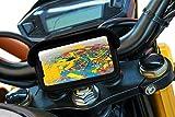 Handyhalterung motorrad mit USB-Ladegerät 2.1A schutzhülle blendschutz Gültig für Smartphones...