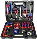 Haushalt Toolbox Set Elektriker Holzbearbeitung Repair Hardware-Handwerkzeug-Set 40-teiliges Set...