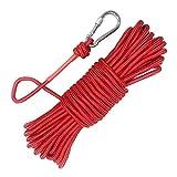 Fischerei Bergung Seil mit Karabiner, 20m Outdoor Seil, Allzweckseil, Festmacherleine, Strick, Seil,...