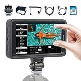 Desview R5 Kamera Monitor Touchscreen, 5,5 Zoll DSLR Field Monitor, 3D-Lut Externer Feldmonitor...